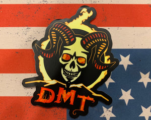 Devil Mountain Tactical logo sticker