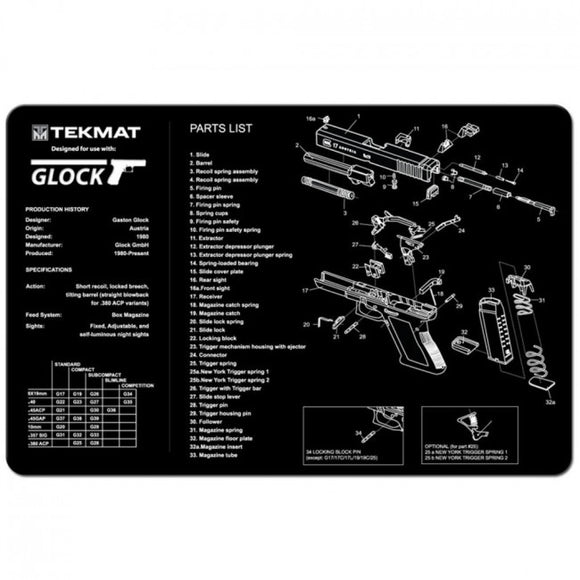 Glock Cleaning Mat - 11
