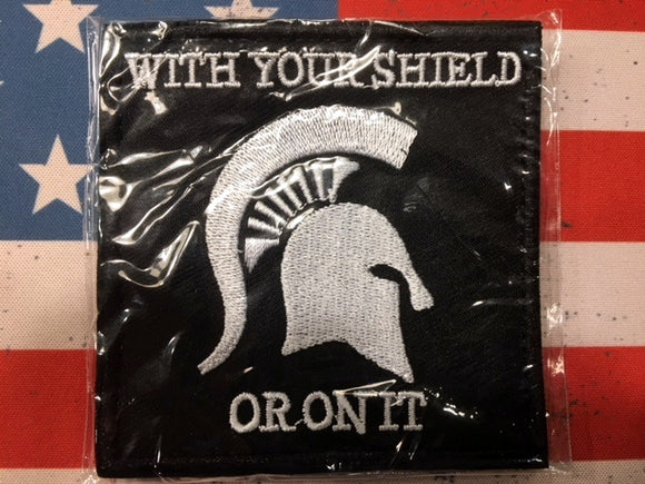 Spartan head Patch