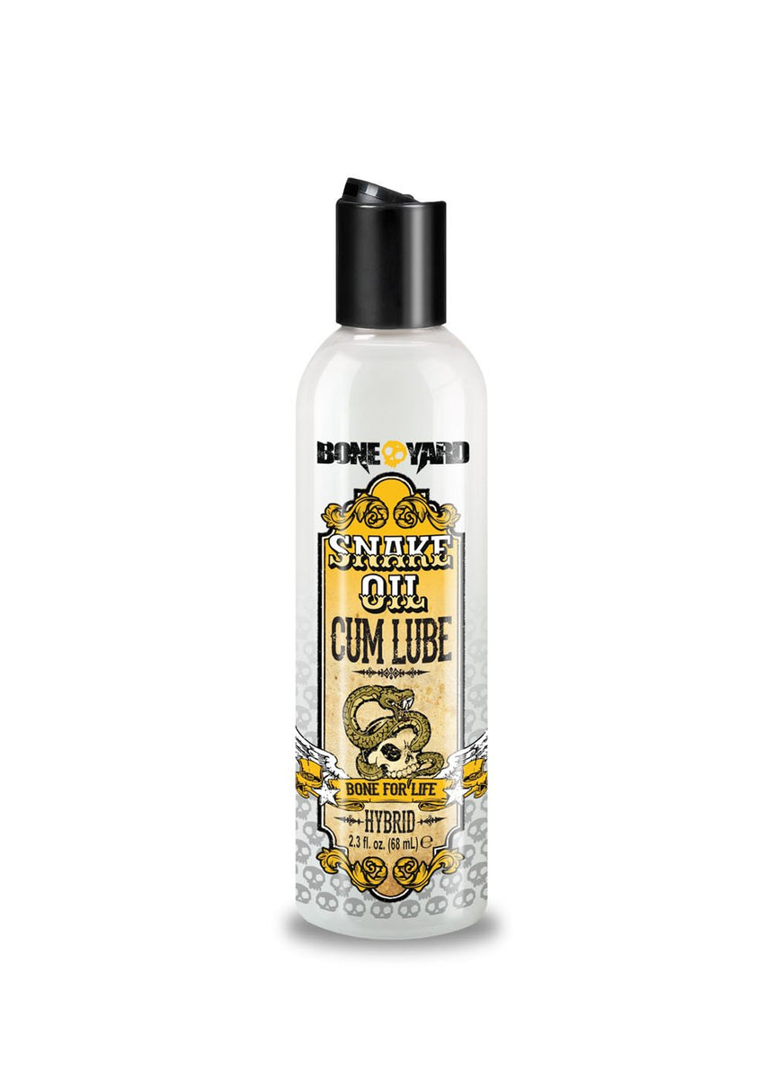 Boneyard Snake Oil Cum Lube 2.3 Fl Oz.