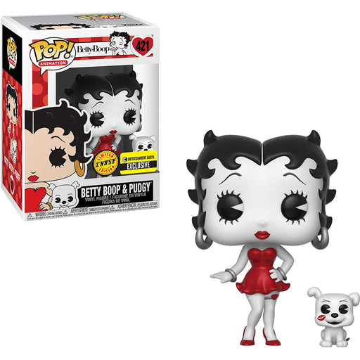 Betty Boop Vinyl Figure and Buddy  - Entertainment Earth Exclusive Chase