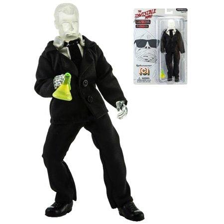 Horror Mego 8-inch Retro Action figure the Invisible Man