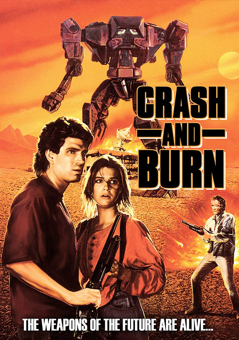 CRASH AND BURN -DVD