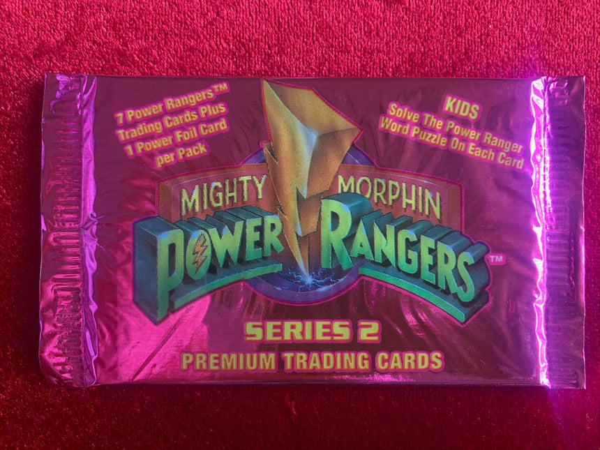 Mighty Morphin Power Rangers Series 2 Premium Trading Cards