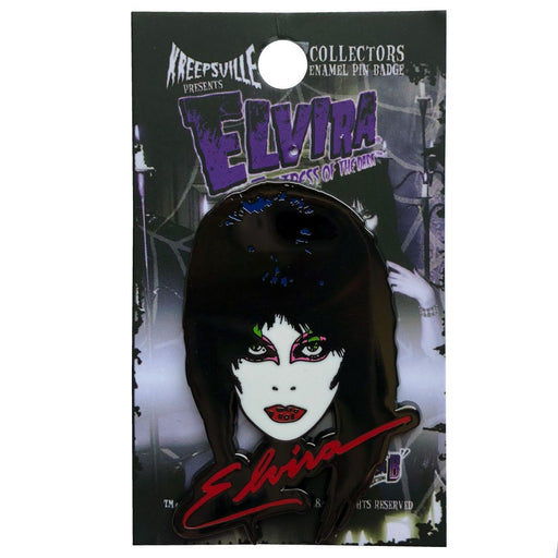 Elvira 80's Enamel Pin