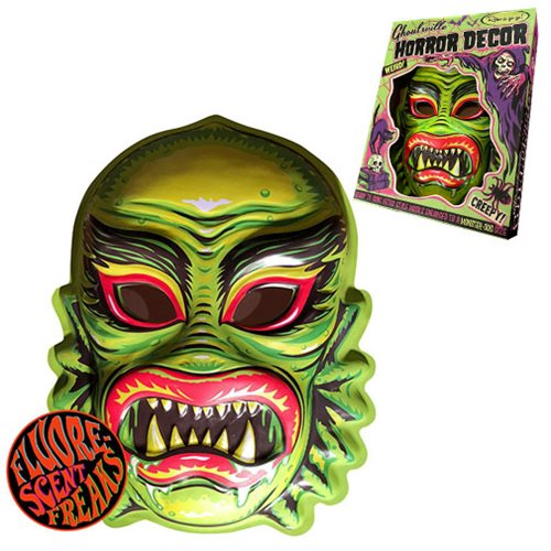 Ghoulville Gill Freak Vac-tastic Plastic Mask Wall Décor