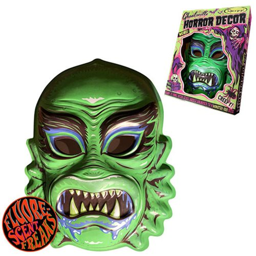 Ghoulville Gill Creep Vac-tastic Plastic Mask Wall Décor