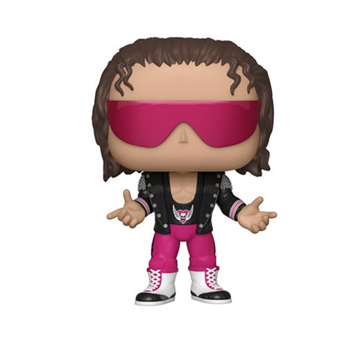 WWE Bret Hart with Jacket Pop! Vinyl Figure