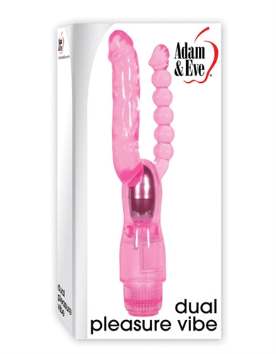 Adam and Eve Dual Pleasure Vibe - Pink