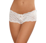 Open Back Panty - White - Extra Large