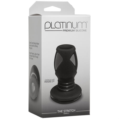 Platinum Premium Silicone - the Stretch - Small - Black