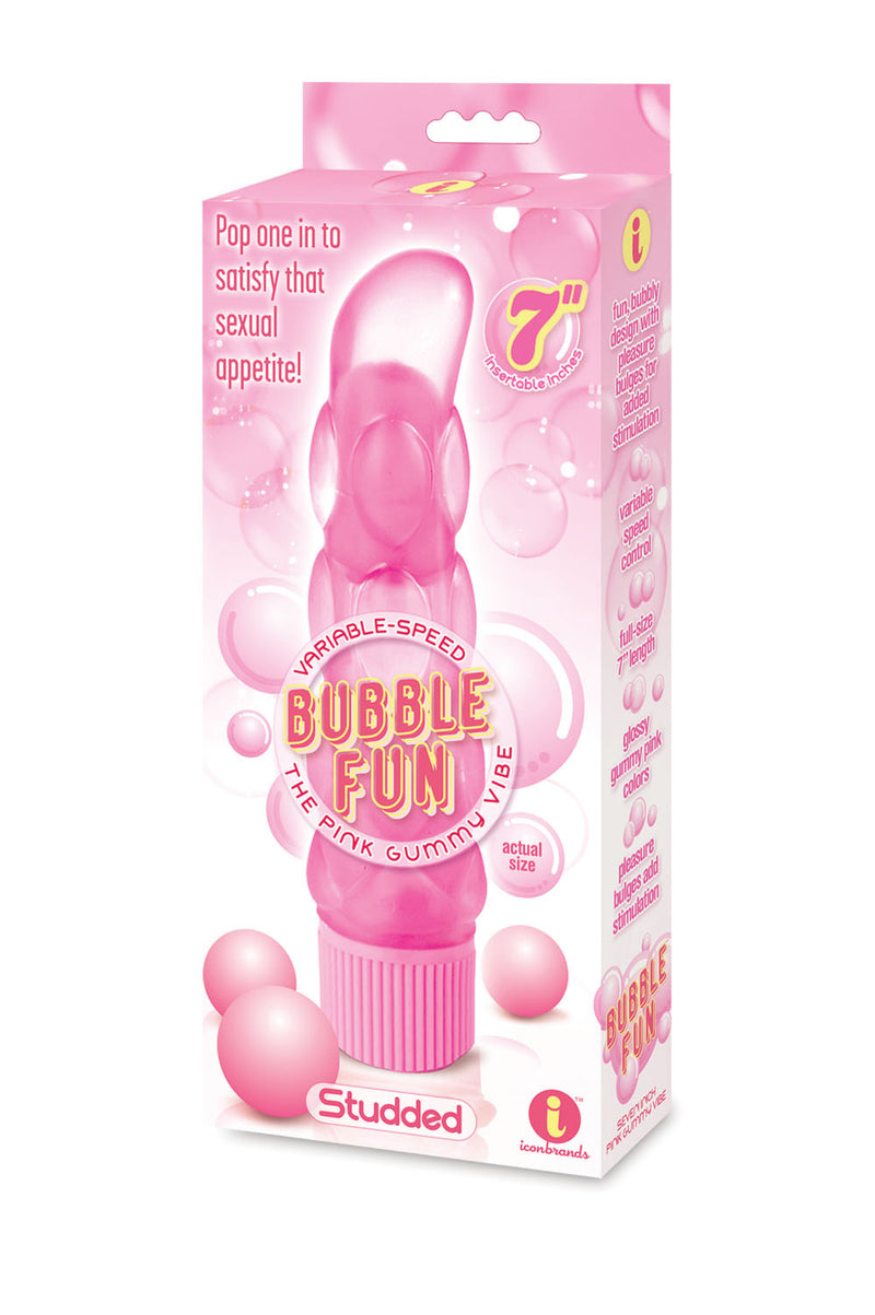 The 9's Bubble Fun Studded Gummy Vibe