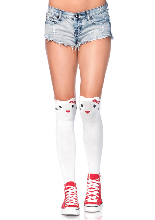 Goodbye Kitty Knee Highs - One Size
