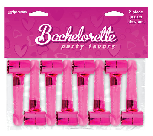 Bachelorette Party Favors 8 Piece Pecker Blowouts