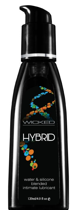 Hybrid Water & Silicone Blended Lubricant - 4 Fl.  Oz. - 120 ml