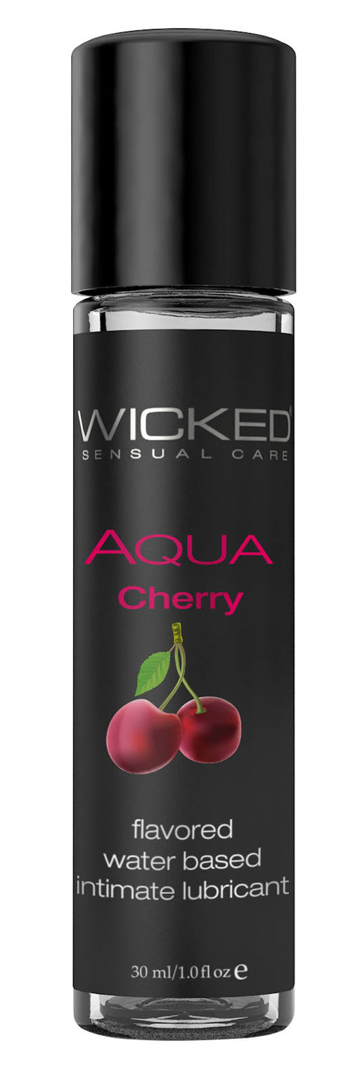 Aqua Cherry Water-Based Lubricant 1 Oz