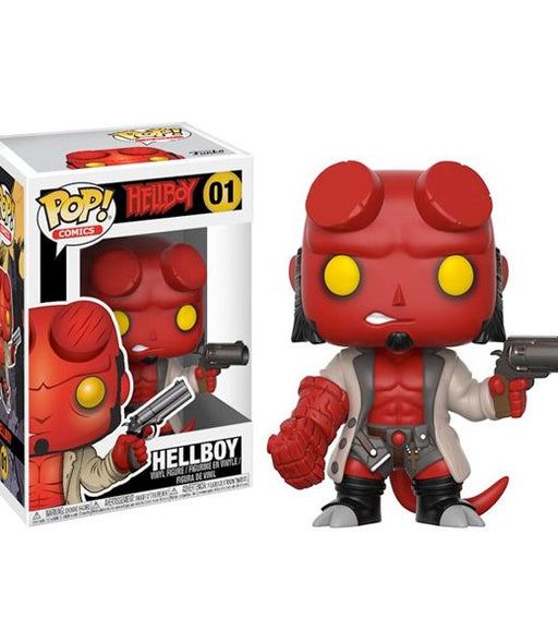 Hellboy Comic Hellboy with Jacket Pop Vinyl Figure #01
