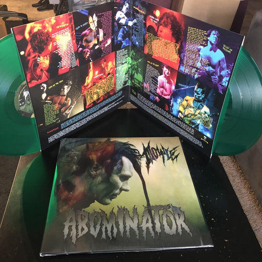 "ABOMINATOR VINYL ""Frankenstein Green"" LIMITED EDITION"