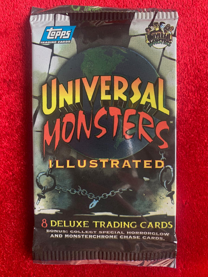 TOPPS UNIVERSAL MONSTERS DELUXE TRADING CARDS