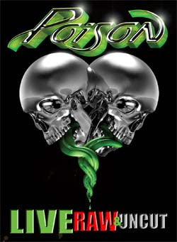 Poison Live Raw Uncut New DVD & CD 2 Set Live Concert