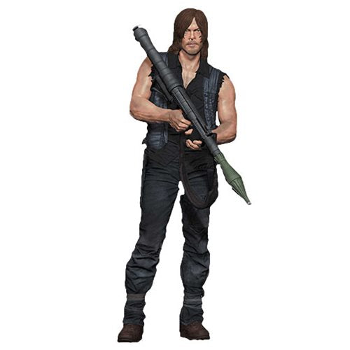Walking Dead Daryl Dixon with Rocket Launcher 10-Inch Figure