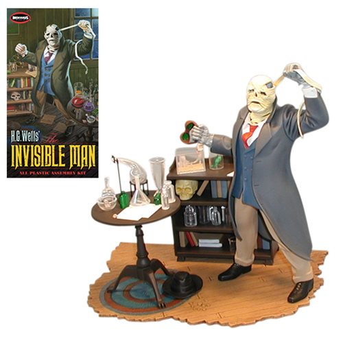 Invisible Man 1:8 Scale Model Kit