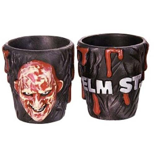 Nightmare on Elm Street Freddy Krueger Shot Glass