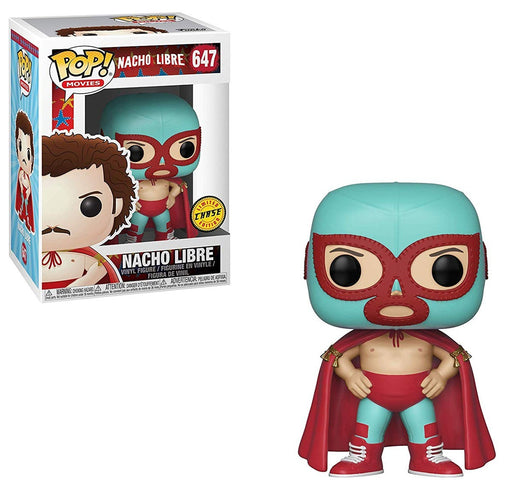Nacho Libre Nacho Pop! Vinyl Figure #647-Limited Edition Chase Pop!