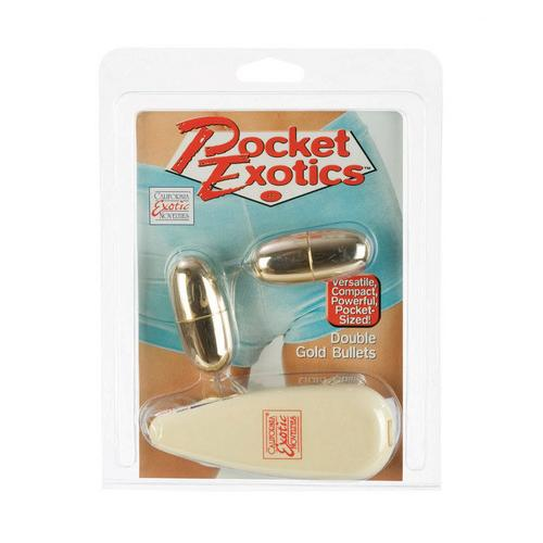 Pocket Exotics Double Gold Bullet