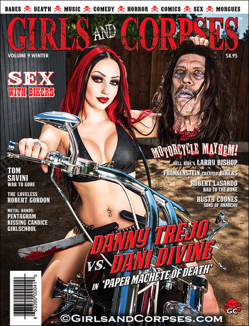 DANNY TREJO MOTORCYCLE MACHETE ISSUE- print issue #27