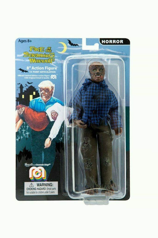 Wolfman MEGO Horror series 8 inch Figure