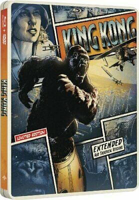 King Kong 2005 (Limited Edition Steelbook Blu-ray + DVD)