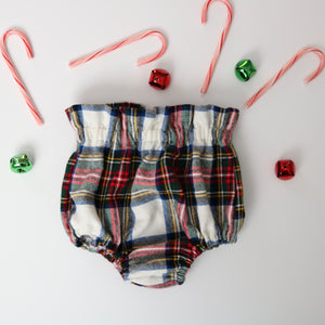 Christmas Plaid Bloomers