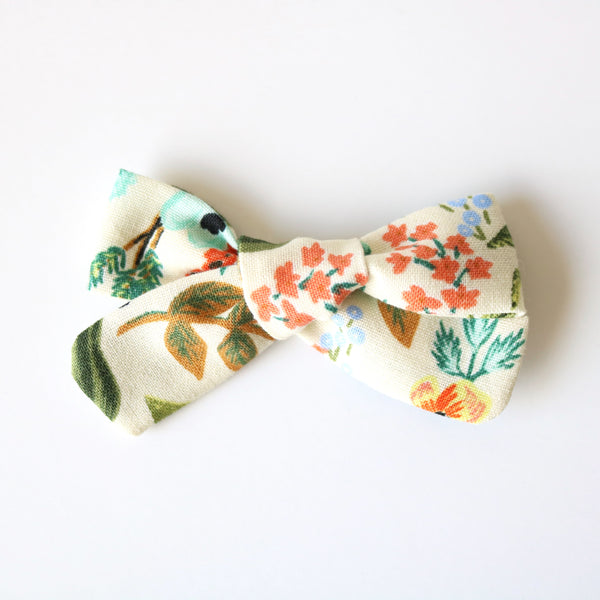 Wildflower School Girl Bow