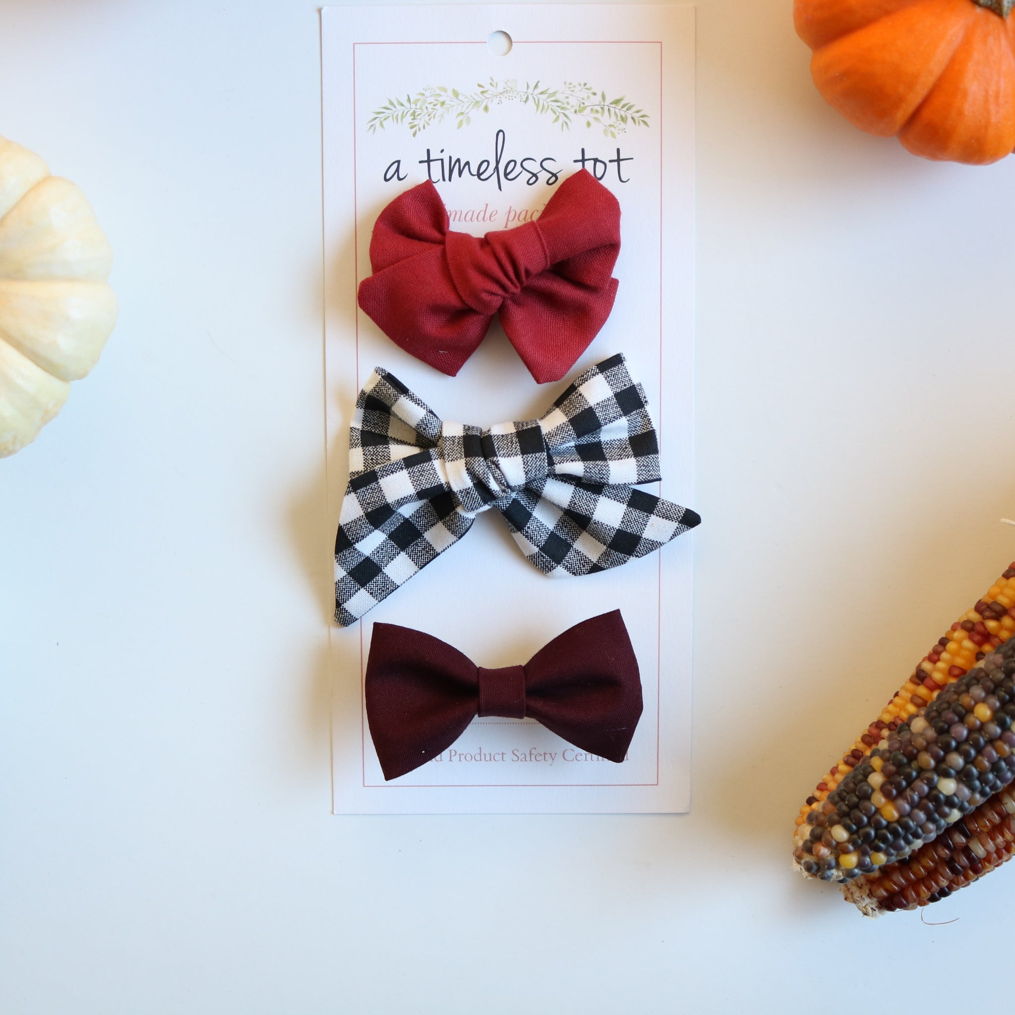 Apple Orchard Bow Set