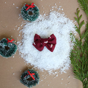 Oh Christmas Tree Chunky Bow - Christmas Collection