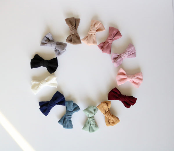 Corduroy Bow Collection - Childhood Cancer Donations