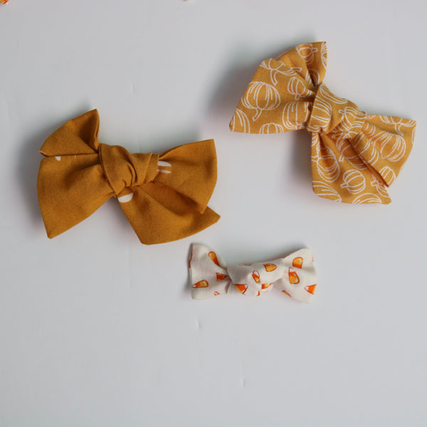 Fall Bow Collection