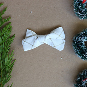 Shining Bright School Girl Bow - Christmas Collection
