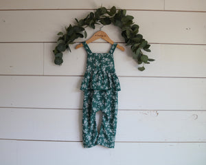 Evergreen Floral Jumper