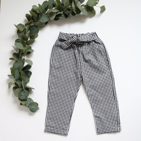 Gingham Trousers