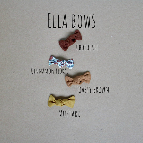 Fall Ella, Schoolgirl & Chunky Bow Collectiom