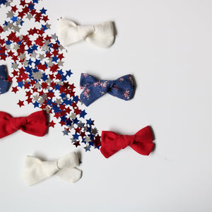 Fireworks School Girl Bow Set