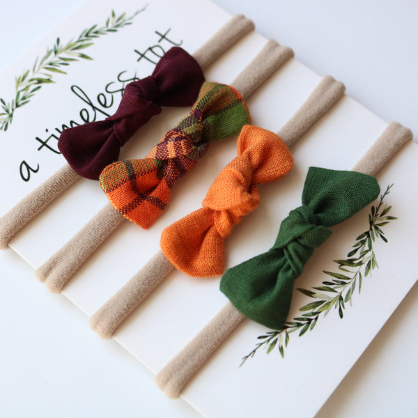 Ella Bows - Autumn Collection