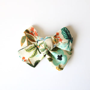 Wildflower Chunky Bow