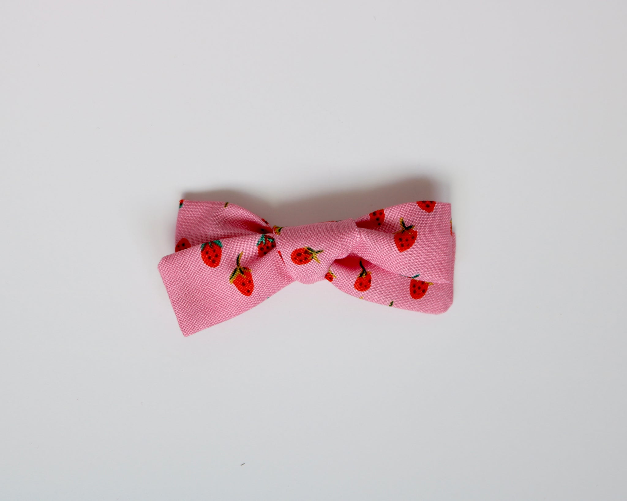 Pink Strawberry Fields School Girl Bow