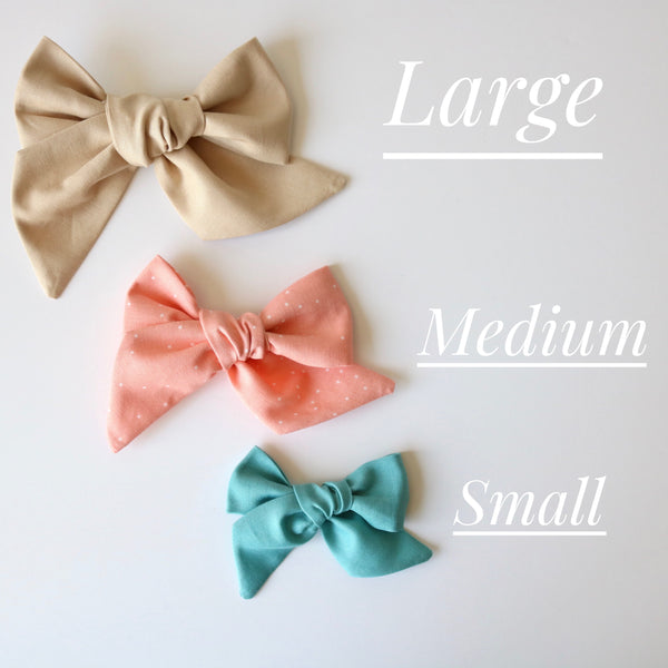 """BUILD YOUR OWN"" SMALL LOLA bow"
