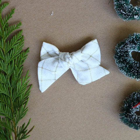 Shining Bright Lola Bow - Christmas Collection