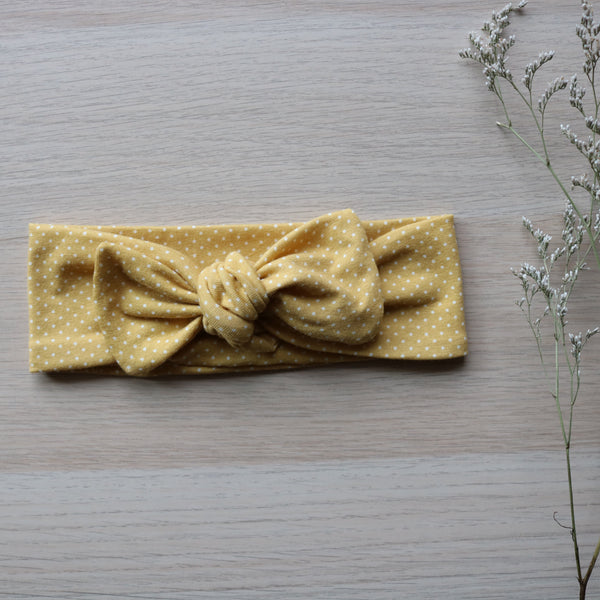 Autumn Top Knot Headband