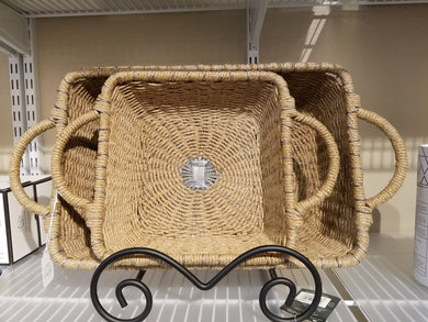 IHI Rectangular Jute Casserole Carrier, 13 x 9